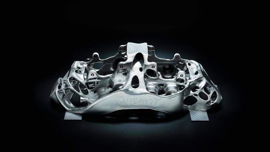 Étrier de frein Bugatti imprimé en 3D