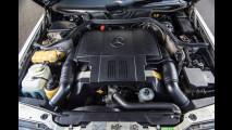 Lancia Thema 8.32 e Mercedes 500 E, Mr. Bean le mette all'asta