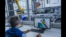 BMW Serie 5 in fase di collaudo