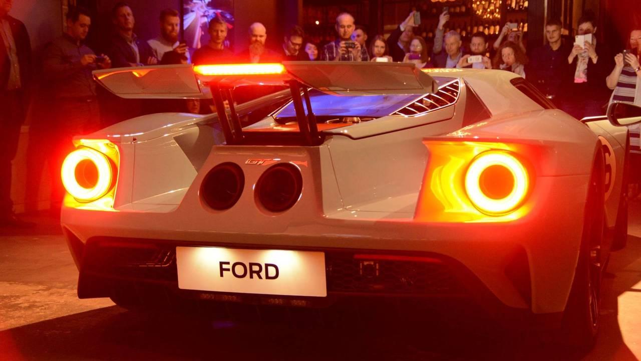 First European Ford GT