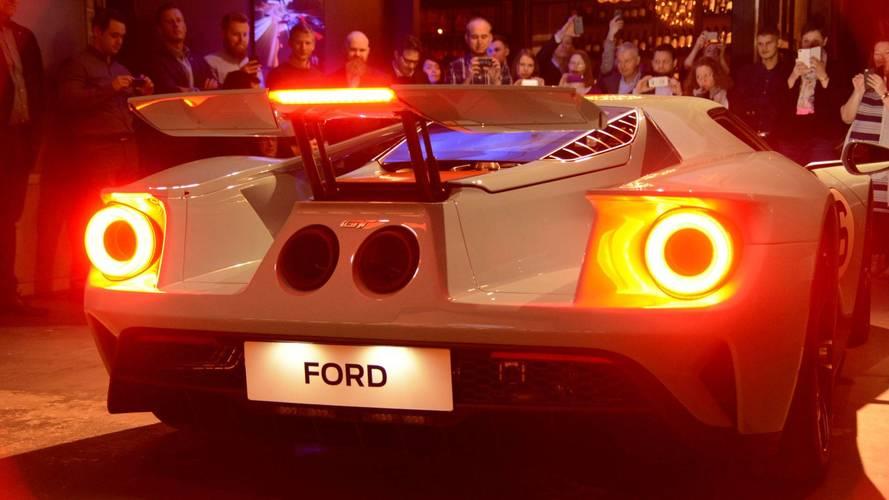 Az első európai piacra készített Ford GT