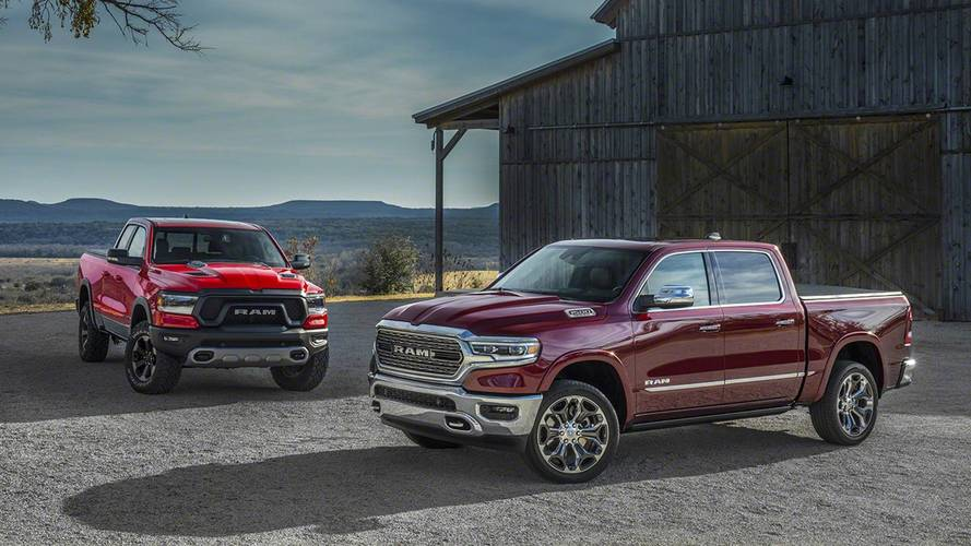 2018 Ram 1500 Pick-Up'ı