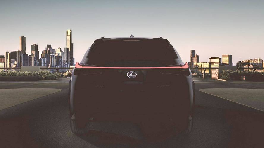 2019 Lexus UX teaser (modified)