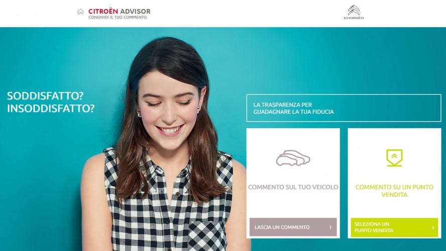 """Le Citroen si ordinano, si noleggiano e si """"commentano"""" online"""