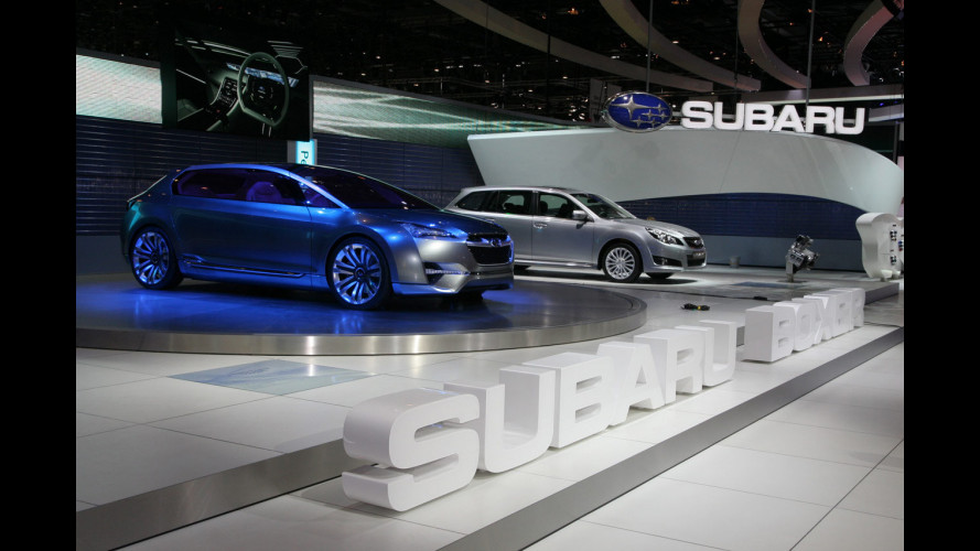 Subaru al Salone di Ginevra 2010