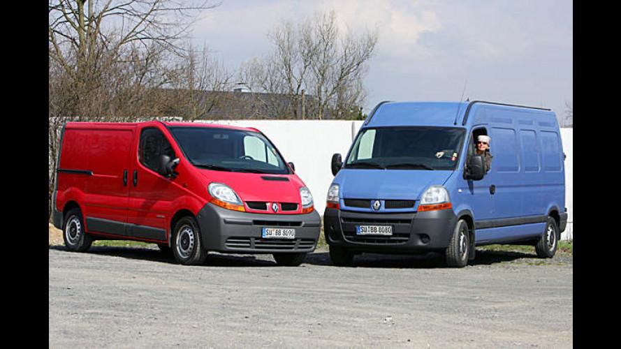 Renault Trafic und Master: Preise für neue Version jetzt fix
