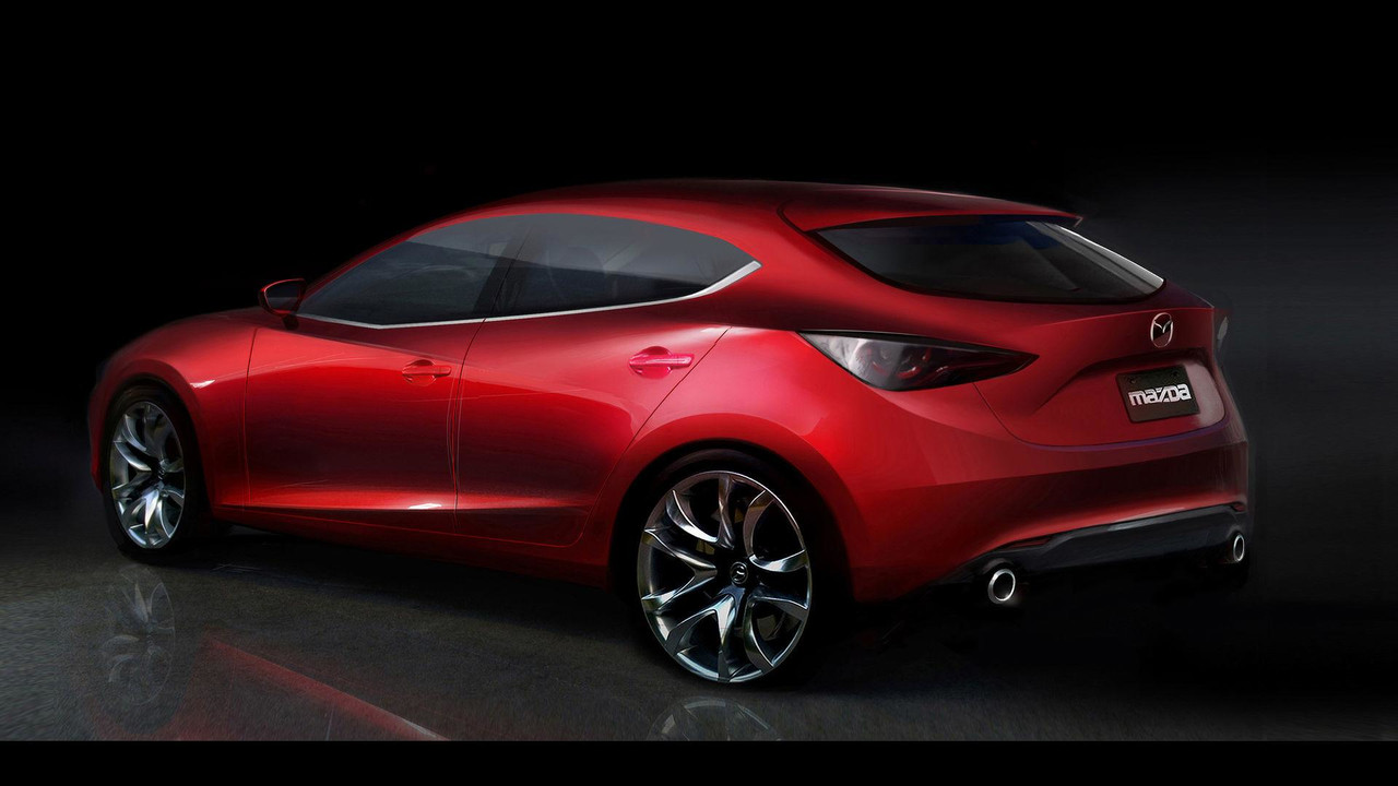 next gen mazda3 with sparkless ignition tech coming to frankfurt. Black Bedroom Furniture Sets. Home Design Ideas