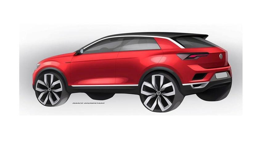 2017 VW T-Roc teaser video