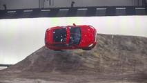 2018 Jaguar E-Pace Barrel Roll