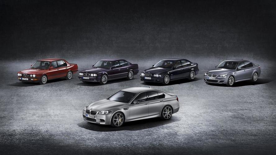 BMW M5, su evolución en una supergalería de fotos (301 imágenes)