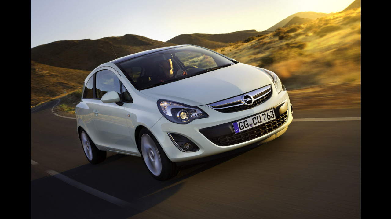 Opel Corsa restyling