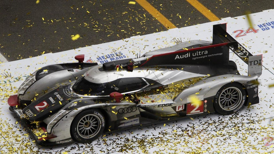 Audi R18 TDI going hybrid for 2012 Le Mans 24hr