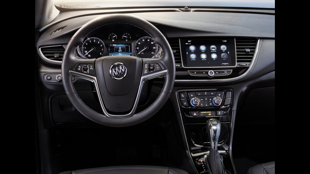 Versão refinada do Tracker, Buick Encore 2017 aparece em fotos oficiais