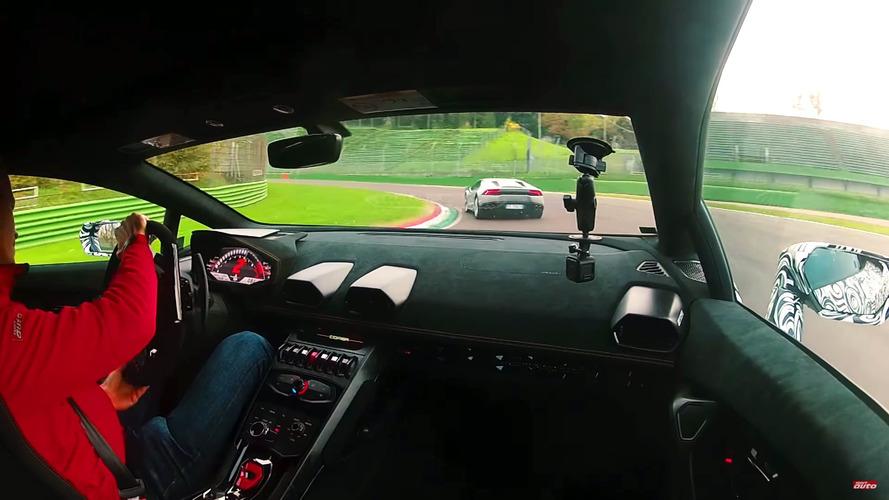 Lamborghini Huracan Performante'nin Imola turu