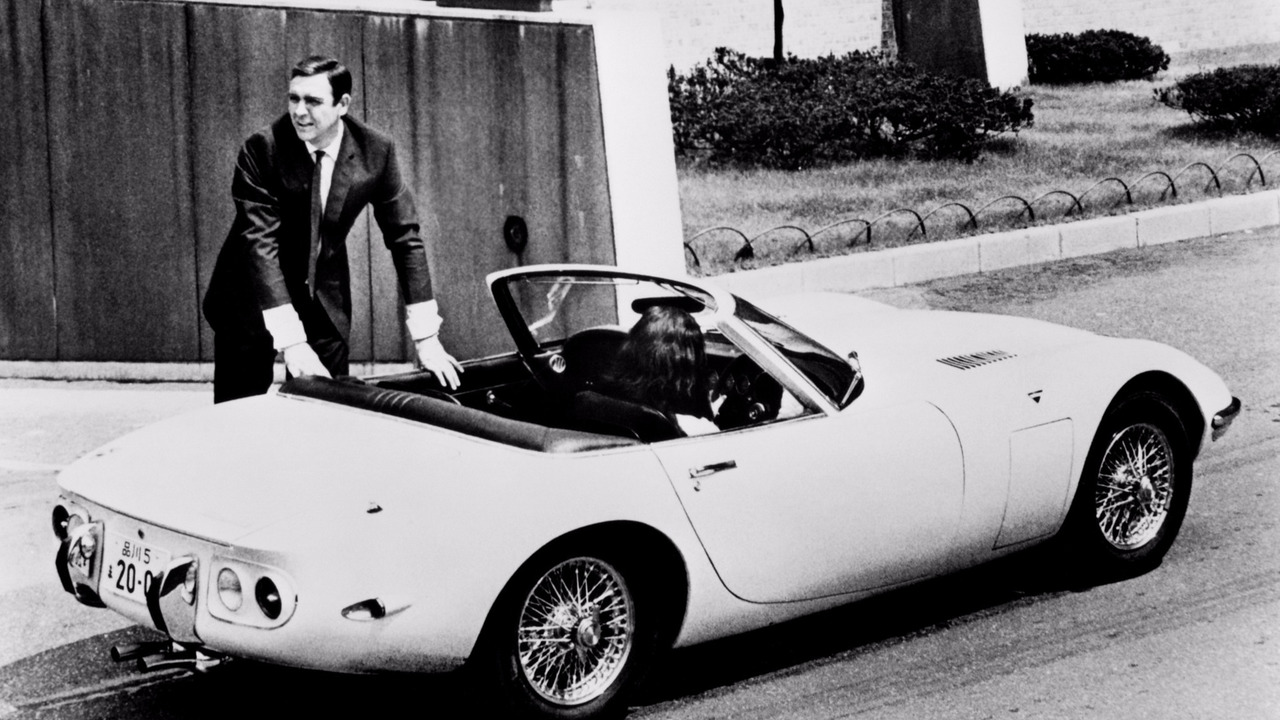 La Toyota 2000 GT de James Bond