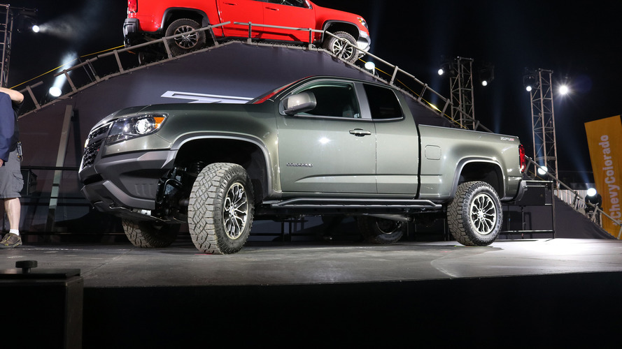 2017 Chevy Colorado ZR2: LA 2016