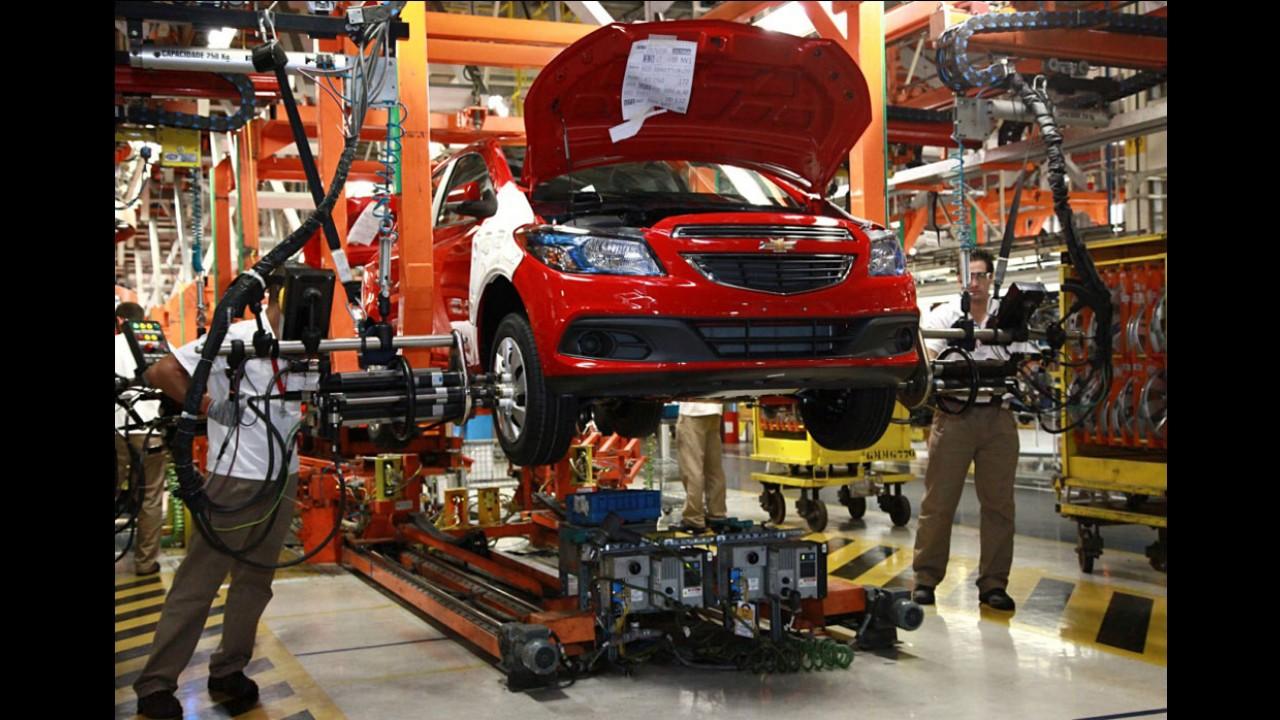 Anfavea: licenciamentos e produção despencam ao nível de 6 anos atrás