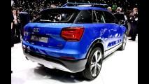 Recém-apresentado, Audi Q2 com traje esportivo é clicado na rua pela 1ª vez