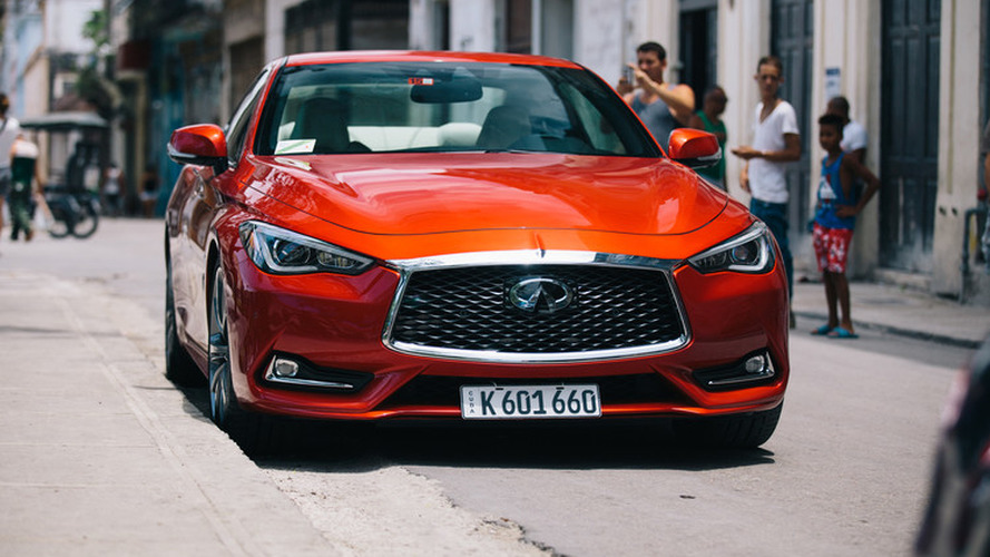 Infiniti Q60 becomes first U.S. car registered in Cuba in 58 years