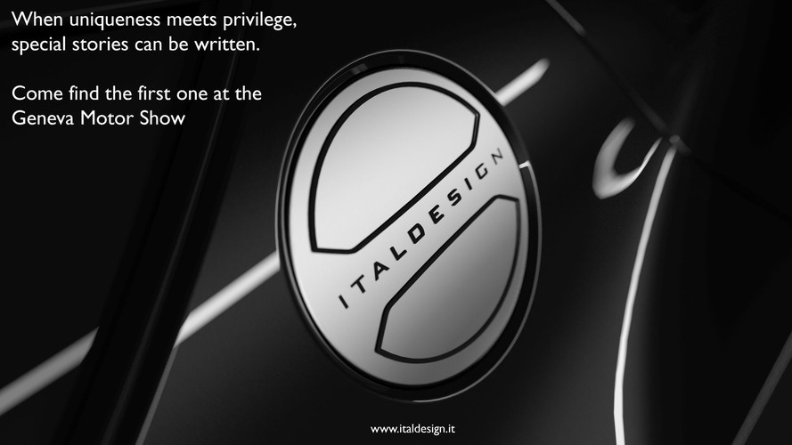 Italdesign yeni bir konseptin teaser'ını yayınladı