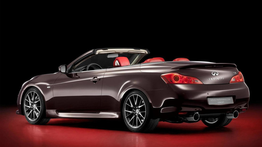 Infiniti IPL G Convertible Concept Revealed