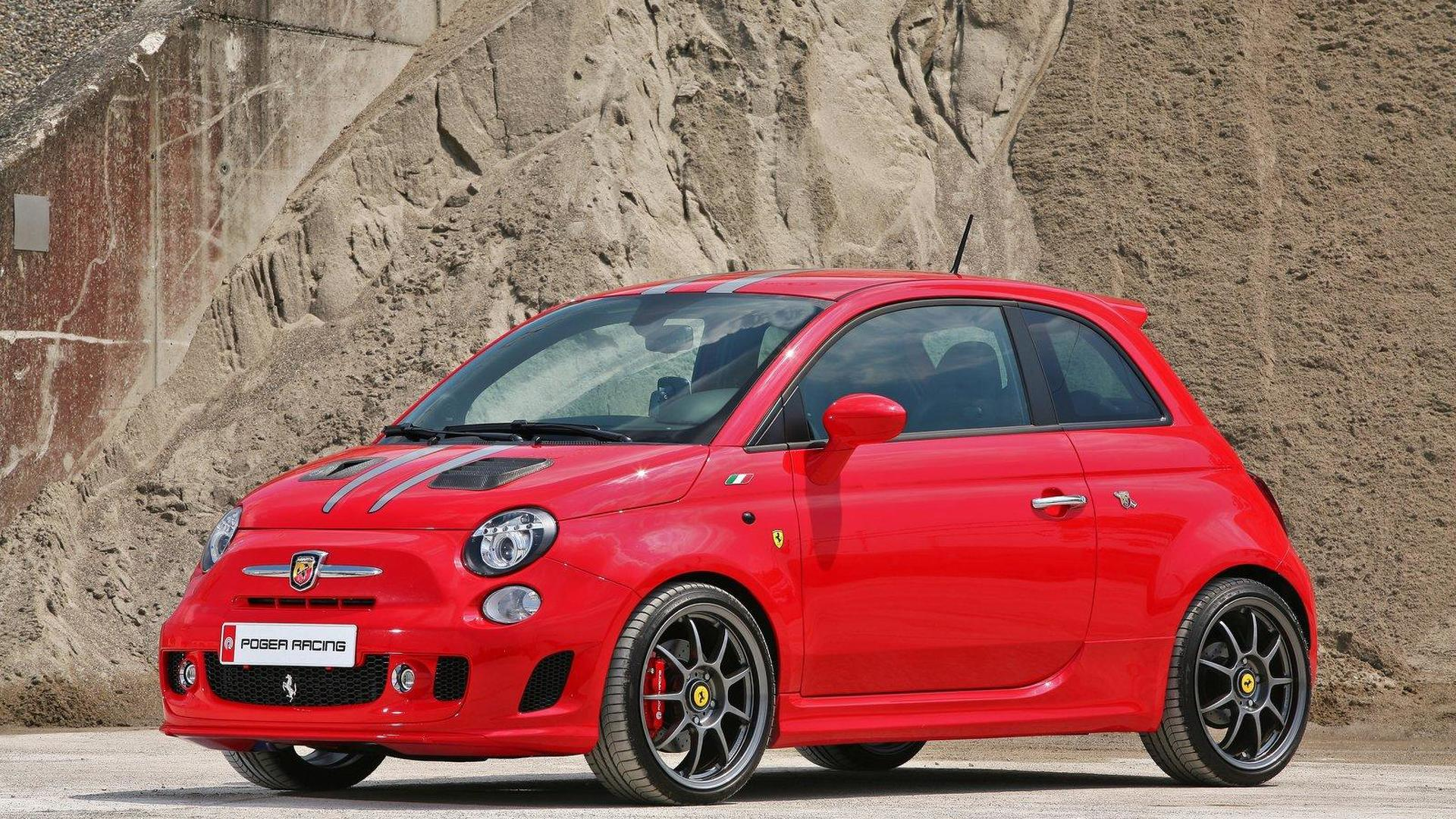 Fiat 500 Ferrari Dealers Edition with 268 PS by Pogea Racing