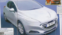 2012 Peugeot 309 leaked design