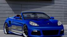 Porsche Panamera Coupe Cabriolet artist rendering