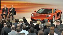 McLaren MP4-12C Press Launch, Woking, England, 18.03.2010