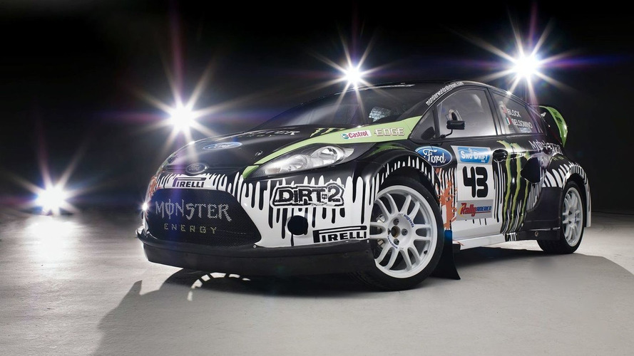 Monster Ford Fiesta Ready for Rally Race Debut