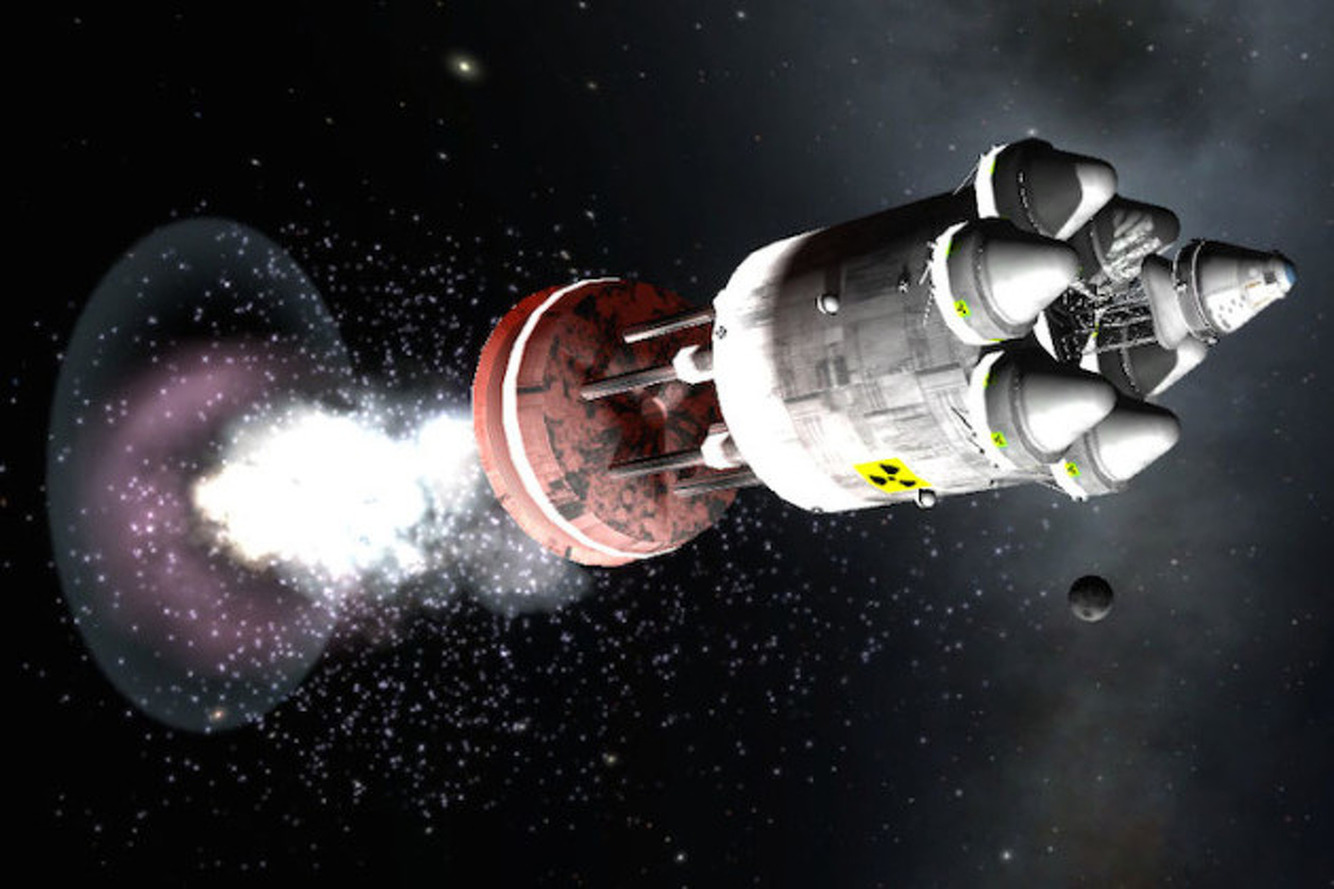 To The Stars, One Bomb at a Time: The Story of Project Orion
