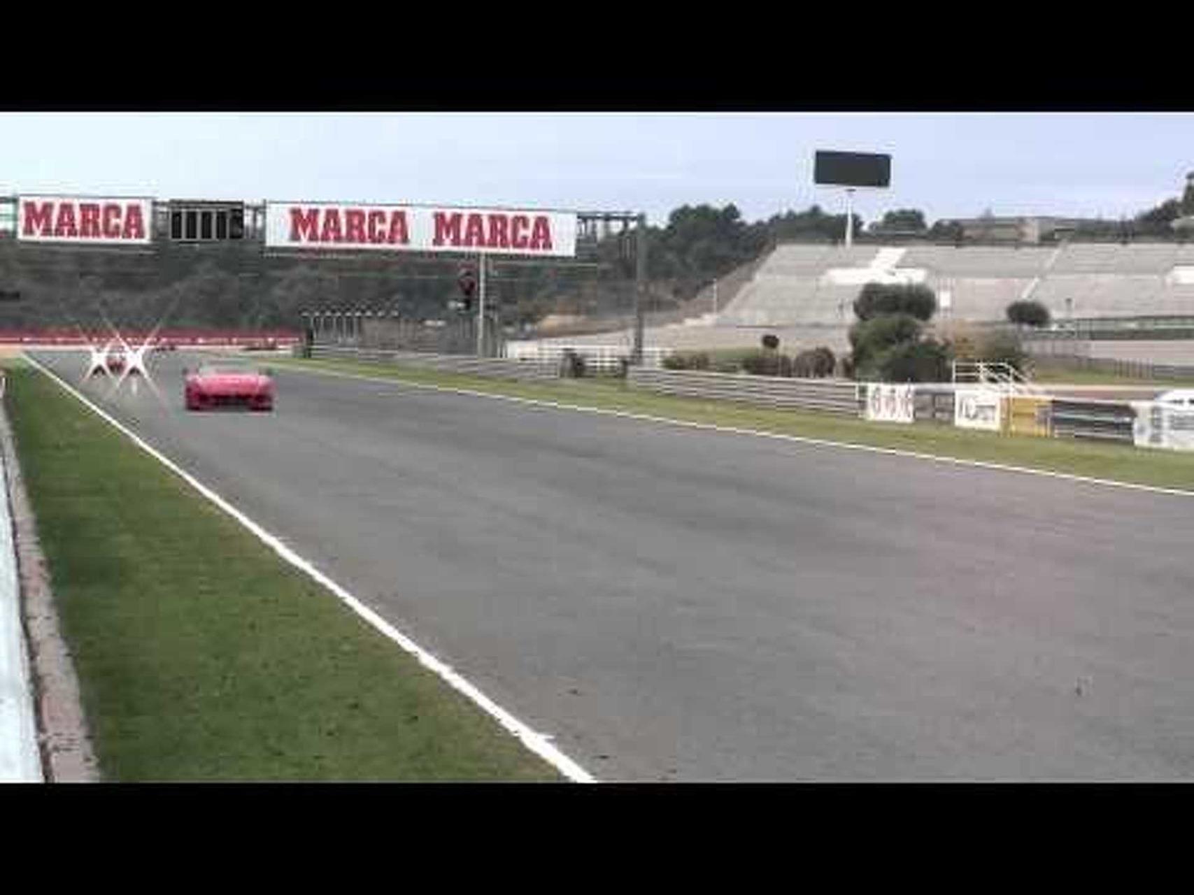 Ferrari 599XX fly by 2