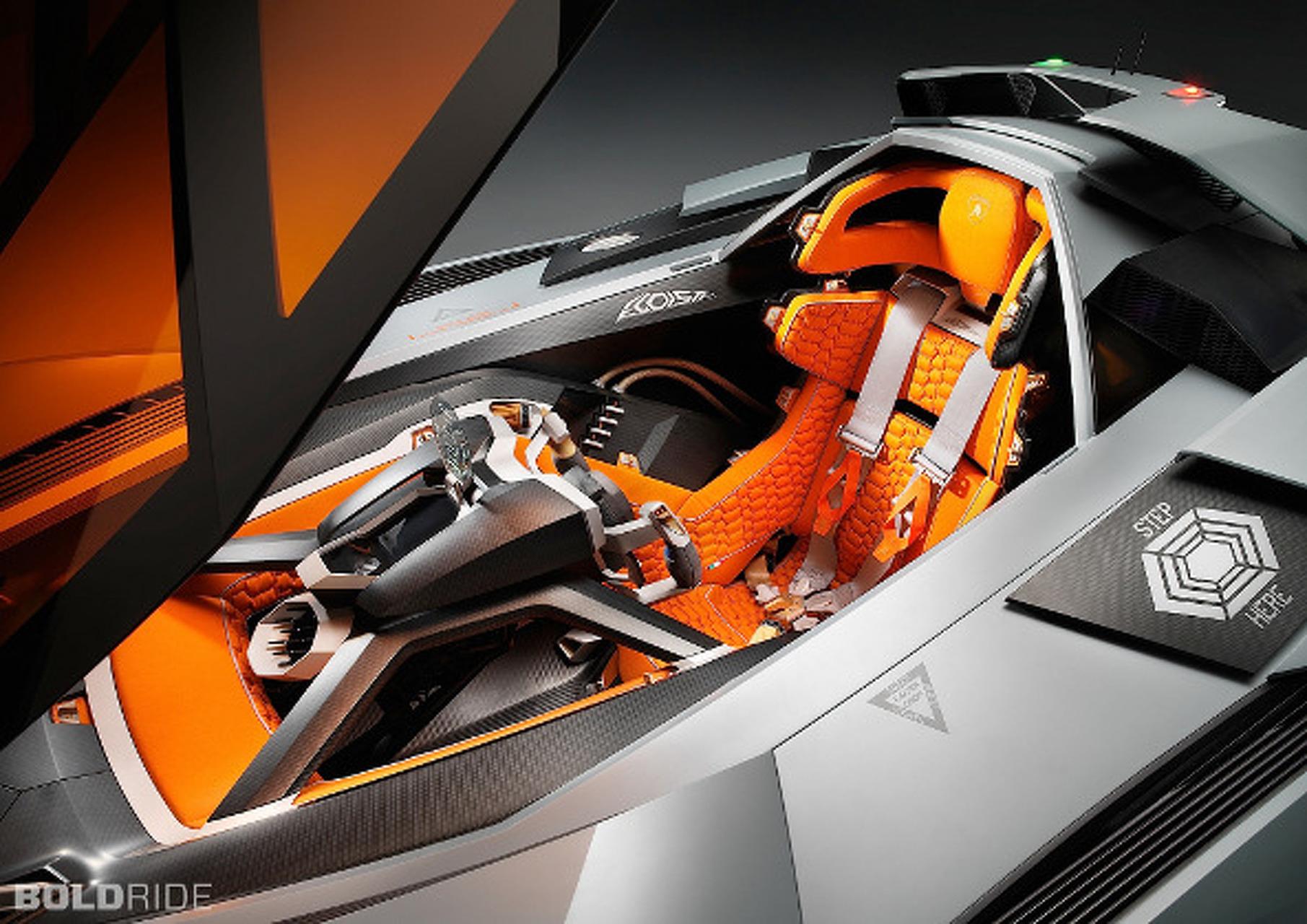 2013 Lamborghini Egoista is the Very Definition of Selfish