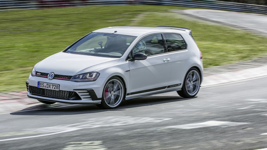 Check out VW's video proof of Golf GTI Clubsport S 'Ring record
