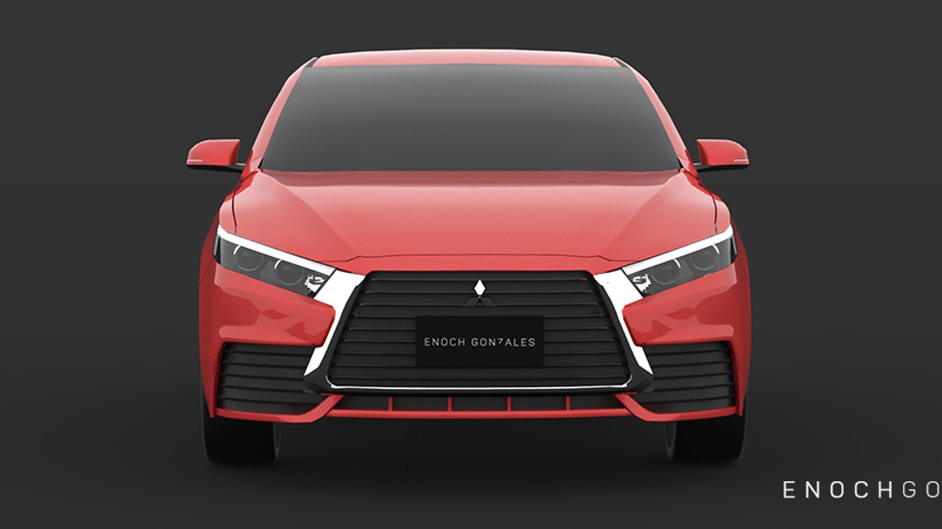 2018 Mitsubishi Lancer imagined, will never happen