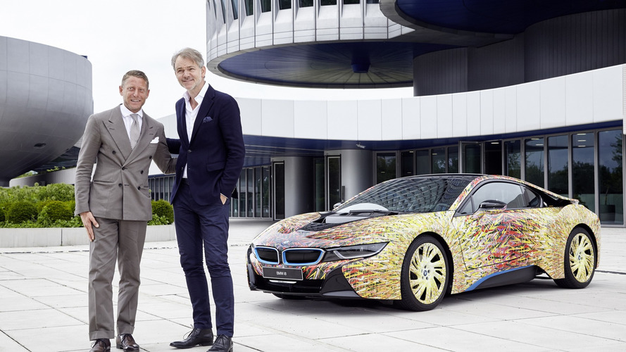 BMW i8 Futurism Edition presented to design boss Adrian van Hooydonk