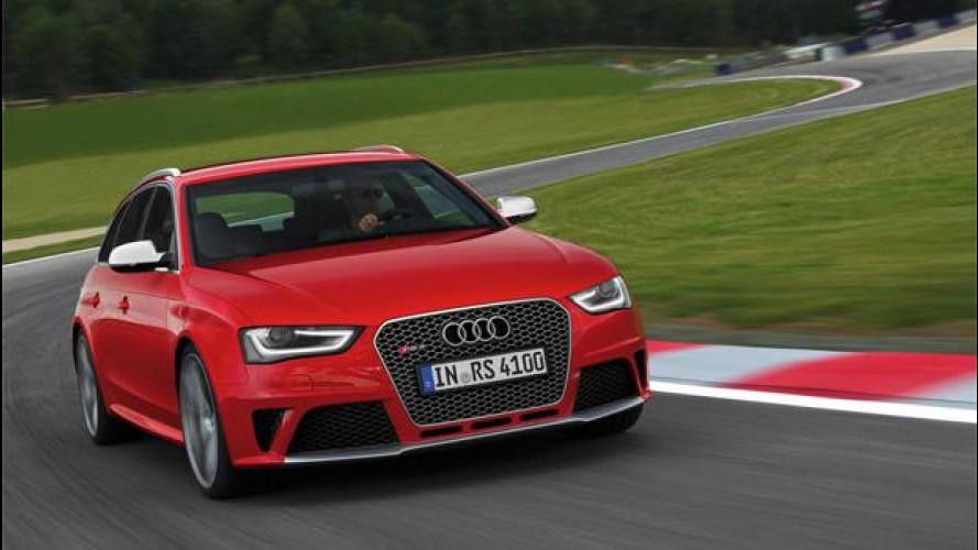 Audi RS 4 Avant, una station