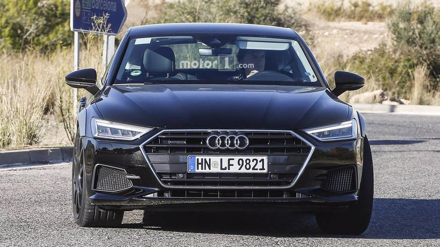 Audi RS 7 Sportback 2018 fotos espía