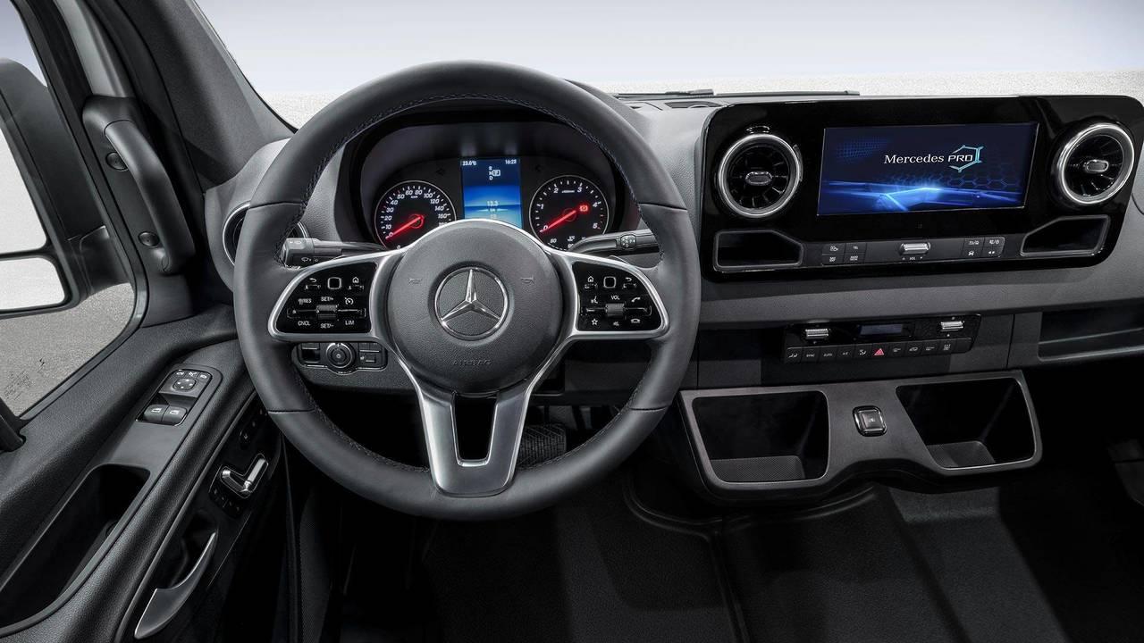 Mercedes-Benz Sprinter Interior Teaser