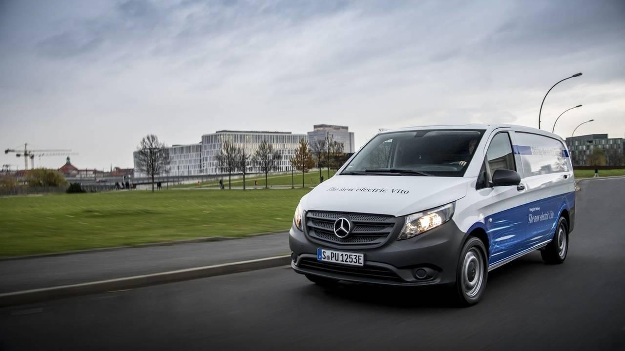 2018 Mercedes eVito