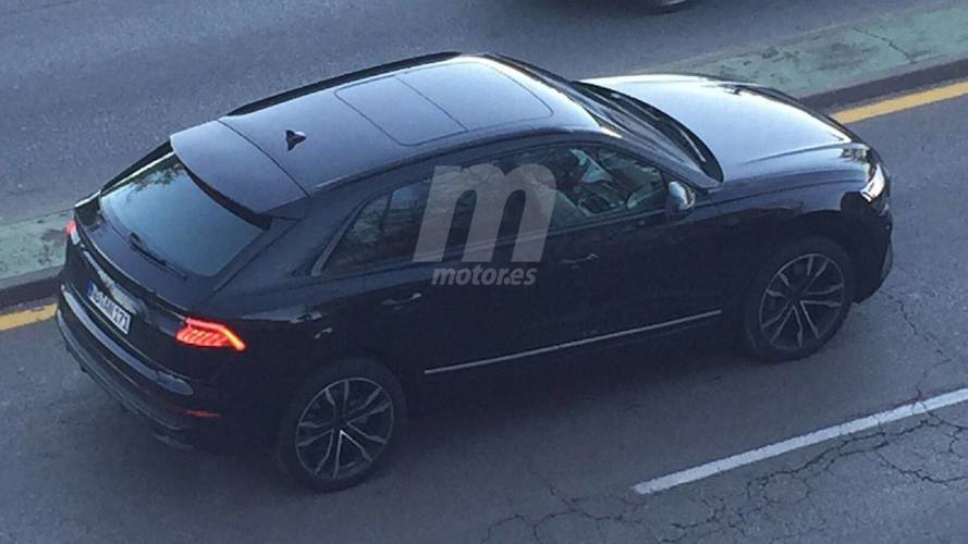 Audi Q8 Spied From Above With Barely Any Camo
