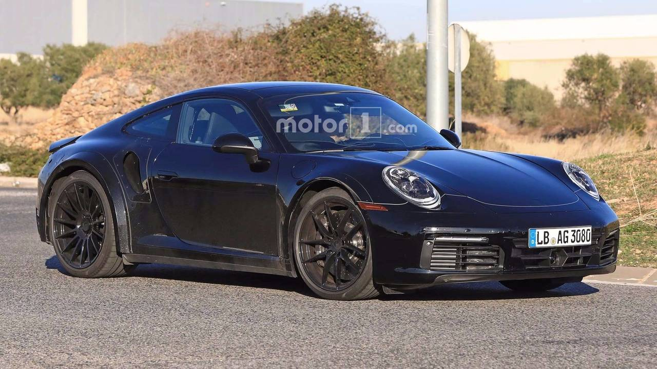 2019 porsche 911 turbo spy photo photo. Black Bedroom Furniture Sets. Home Design Ideas