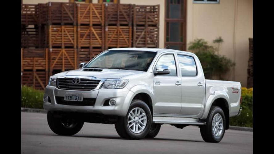 Toyota Hilux e SW4 ganharão motor diesel de 171 cv e câmbio automático de 5 marchas