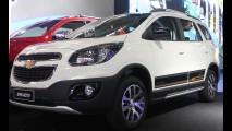 Salão SP: Chevrolet Spin Activ com estepe na traseira chega em novembro