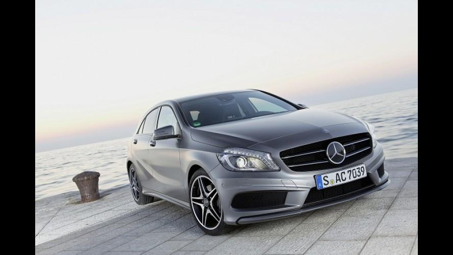 Novo Classe A é escolhido como o preferido dos alemães em 2012