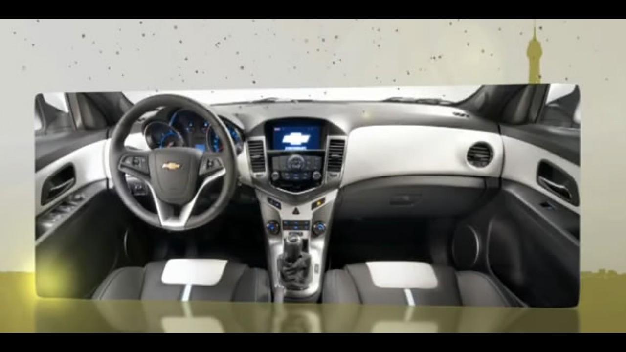 VÍDEO mostra o interior do Novo Chevrolet Cruze hatch