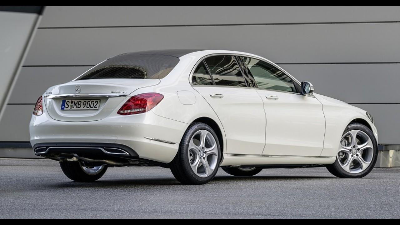 Novo Mercedes Classe C terá versão alongada na China