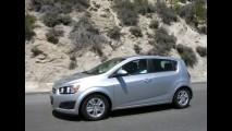 Fotos: Chevrolet testa o Novo Sonic no