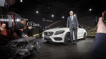 2014 Mercedes C-Class live in Detroit