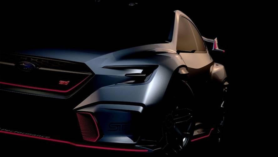 Une Subaru VIZIV Performance STI Concept prête à bondir